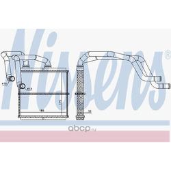 Теплообменник, отопление салона (Nissens) 72216