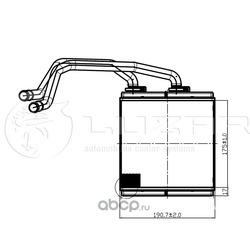 Радиатор отопления (Luzar) LRH14JD