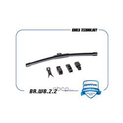 Стеклоочиститель бескаркасный 350мм (BRAVE) BRWB22