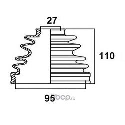Пыльник привода (AVANTECH) BD0209