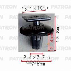 Клипса пластмассовая (PATRON) P370496