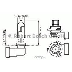 Лампа накаливания (Bosch) 1987302153