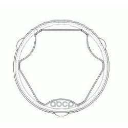 Комплект пылника, приводной вал (GKN (Loebro)) 304884