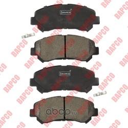 Колодки тормозные дисковые передние (BAPCO) BP0638