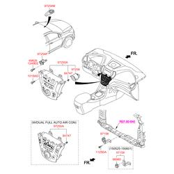 Электрохимический лямбда-зонд (Hyundai-KIA) 972802W000