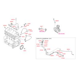 Шланг тормозной системы (Hyundai-KIA) 3947127800
