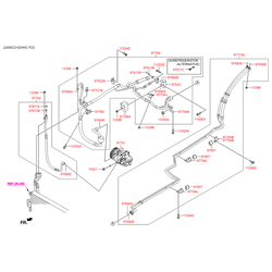 Шланг системы охлаждения (Hyundai-KIA) 977622W000