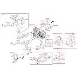 Шланг системы охлаждения (Hyundai-KIA) 973122W100