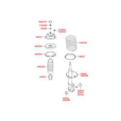Чашка пружины (Hyundai-KIA) 5462037110