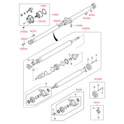 Уплотнительное кольцо муфты полного привода (Hyundai-KIA) 4780139000