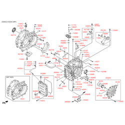 Уплотнительное кольцо АКПП (Hyundai-KIA) 452453B600