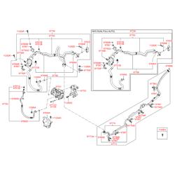 Трубка системы охлаждения салона (Hyundai-KIA) 977592B100