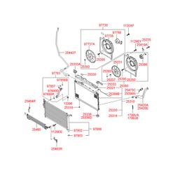 Трубка кондиционера (Hyundai-KIA) 977612B000