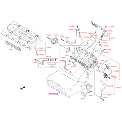 Трубка вентиляции картера двигателя (Hyundai-KIA) 267202G000
