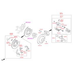 Тормозной суппорт (Hyundai-KIA) 583102WA00