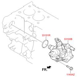 Топливный насос центробежного типа (Hyundai-KIA) 331002F600