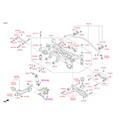 Стабилизатор поперечной устойчивости (Hyundai-KIA) 555102W120