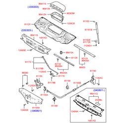 Ручка (Hyundai-KIA) 8118002000