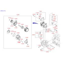 Реле-регулятор генератора (Hyundai-KIA) 3737027011