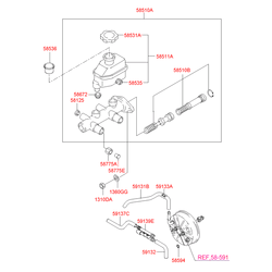 Пропорциональный клапан (Hyundai-KIA) 5877525010