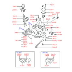 Прокладка клапана системы рециркуляции выхлопных газов (Hyundai-KIA) 2843132800