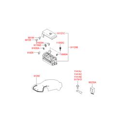 Предохранитель (Hyundai-KIA) 9184038000
