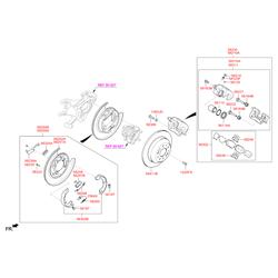 Поршень тормозного суппорта (Hyundai-KIA) 5811237000