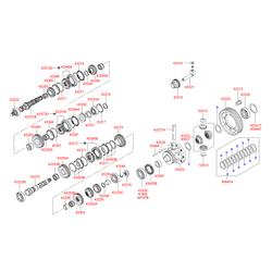 Подшипник роликовый (Hyundai-KIA) 432203A040