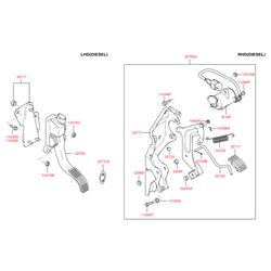 Педаль акселератора (Hyundai-KIA) 3270026310