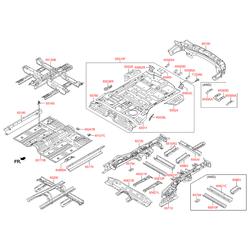 Панель кузова (Hyundai-KIA) 659102W600