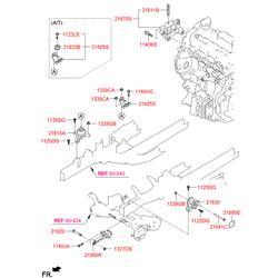 Опорный узел двигателя (Hyundai-KIA) 216702F010