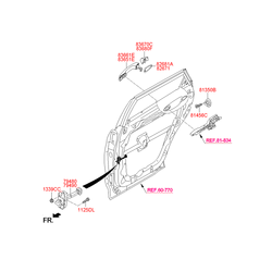 Ограничитель двери (Hyundai-KIA) 79480B8000