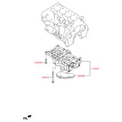 Масляный фильтр бескорпусной конструкции для АКПП (Hyundai-KIA) 262002F000