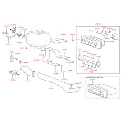 Лампочка панели отопителя (12в, 0,8вт) (Hyundai-KIA) 9732233100