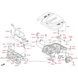 Корпус дроссельной заслонки (Hyundai-KIA) 351003CAA0