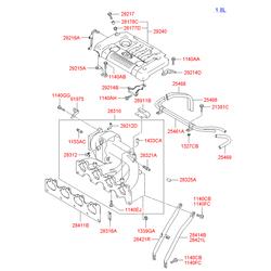 Клапан рециркуляции выхлопных газов (Hyundai-KIA) 2841027001