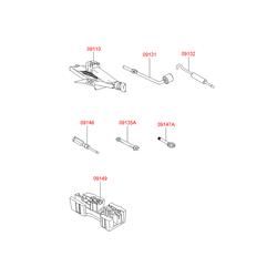 Домкрат механический (Hyundai-KIA) 091102B000