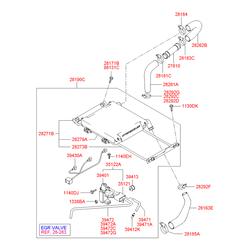 Держатель радиатора (Hyundai-KIA) 2827327211