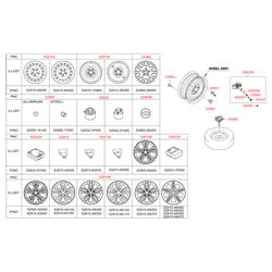 Датчик частоты вращения колеса (Hyundai-KIA) 52933A5100