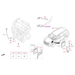 Датчик температуры воздуха (Hyundai-KIA) 392212F600