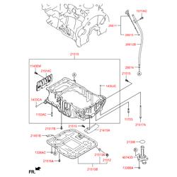 Датчик положения коленвала (Hyundai-KIA) 391802F600