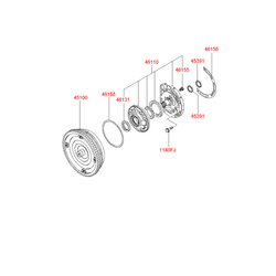 Гидротрансформатор АКПП (Hyundai-KIA) 4510039620
