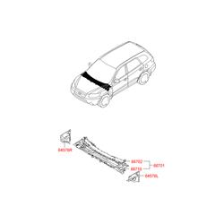 Внутренняя панель моторного отсека (Hyundai-KIA) 667212B310