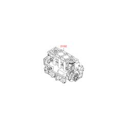 Блок цилиндров в сборе (Hyundai-KIA) 202E2U2712