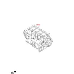 Блок цилиндров (Hyundai-KIA) 266F22FU00