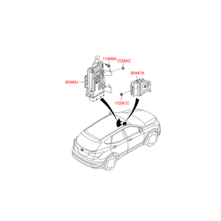 Блок управления АКПП (Hyundai-KIA) 954403BGC0