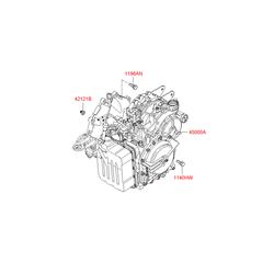 АКПП в сборе (Hyundai-KIA) 4500039AC5