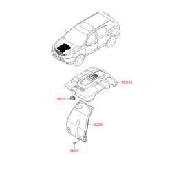 Адаптор (Hyundai-KIA) 3510027010