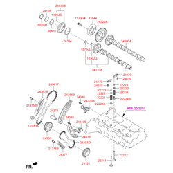 Распредвал (Hyundai-KIA) 241102F600
