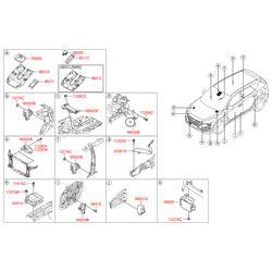 Звуковой сигнал (Hyundai-KIA) 957104D011